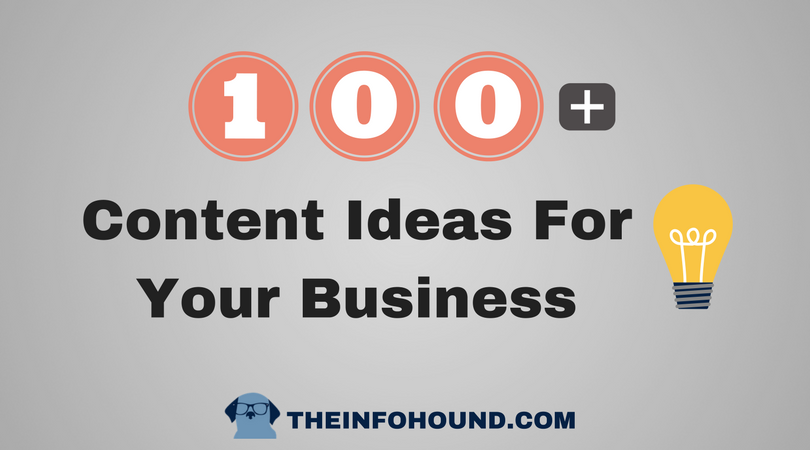 content ideas for your solopreneur business