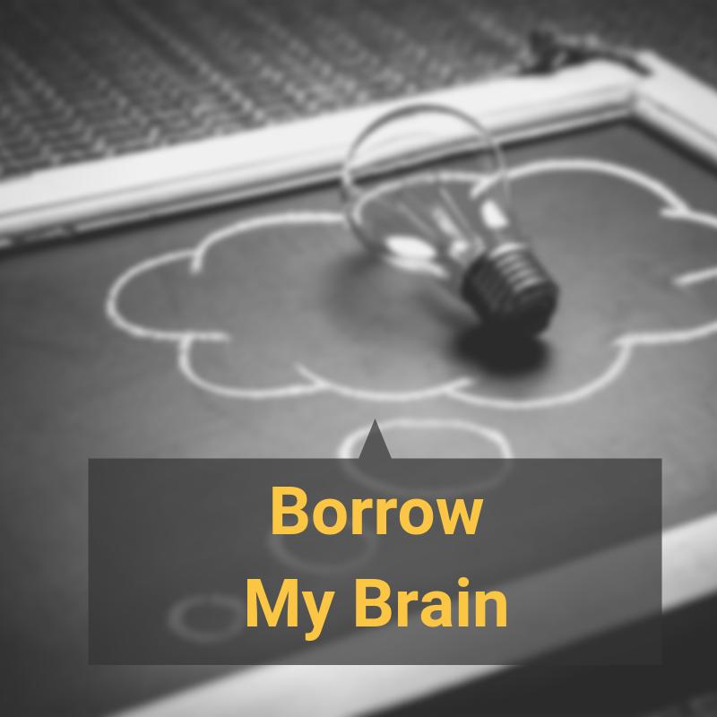 mighty marketing mojo borrow my brain service